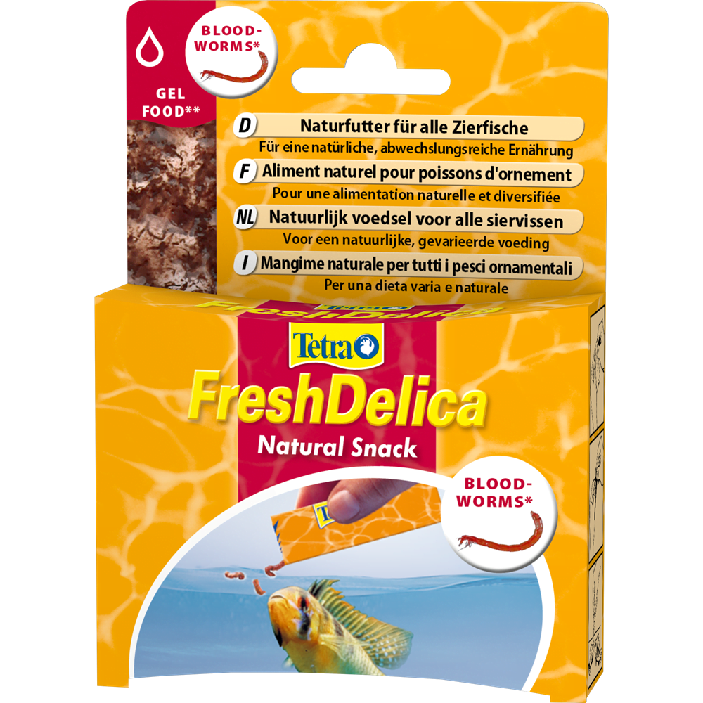 Tetra Fresh Delica Bloodworms 48 Gram