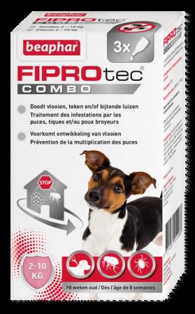 Bea Fiprodog 2-10kg 3 Pip. Combo