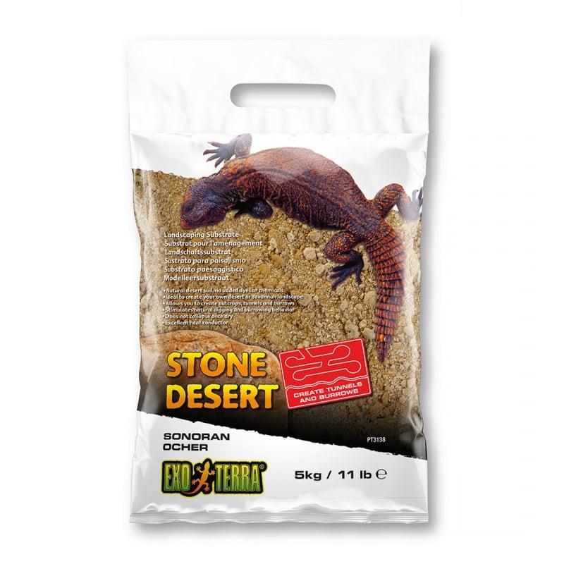 Ex Stone Desert Substraat Sonoran Ocher Geel 5kg