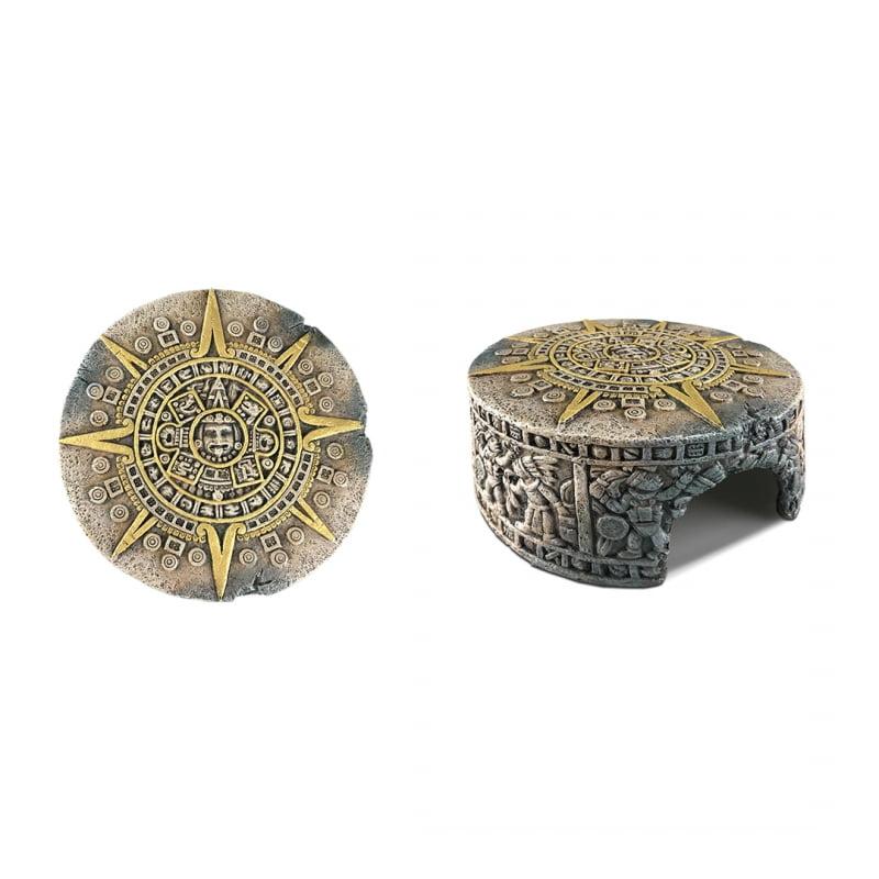 Exo terra  Aztec  Kalendersteen Schuilgrot 13cm x H4,5cm
