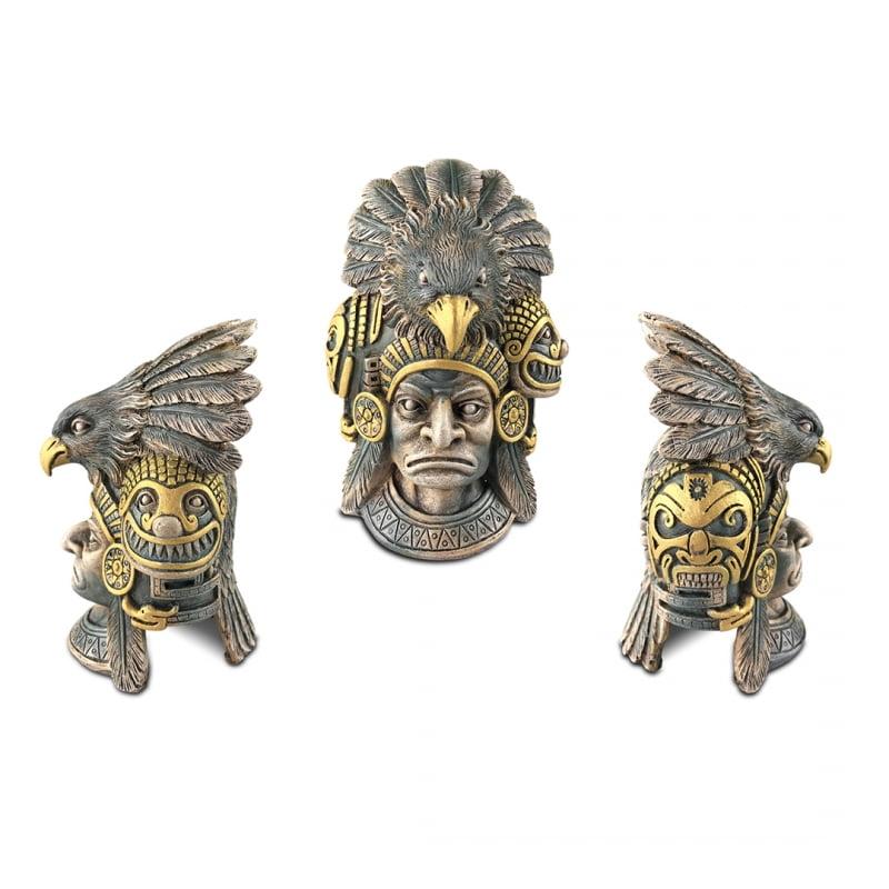 Exo terra  Aztec  warrior schuilgrot 15,5x14x22cm