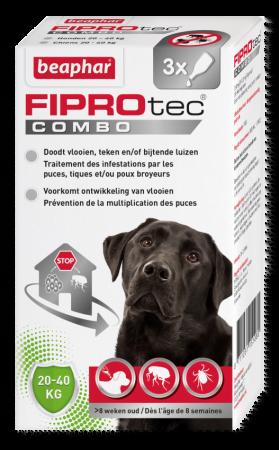 Bea Fiprodog 20-40 Kg 3 Pip. Combo
