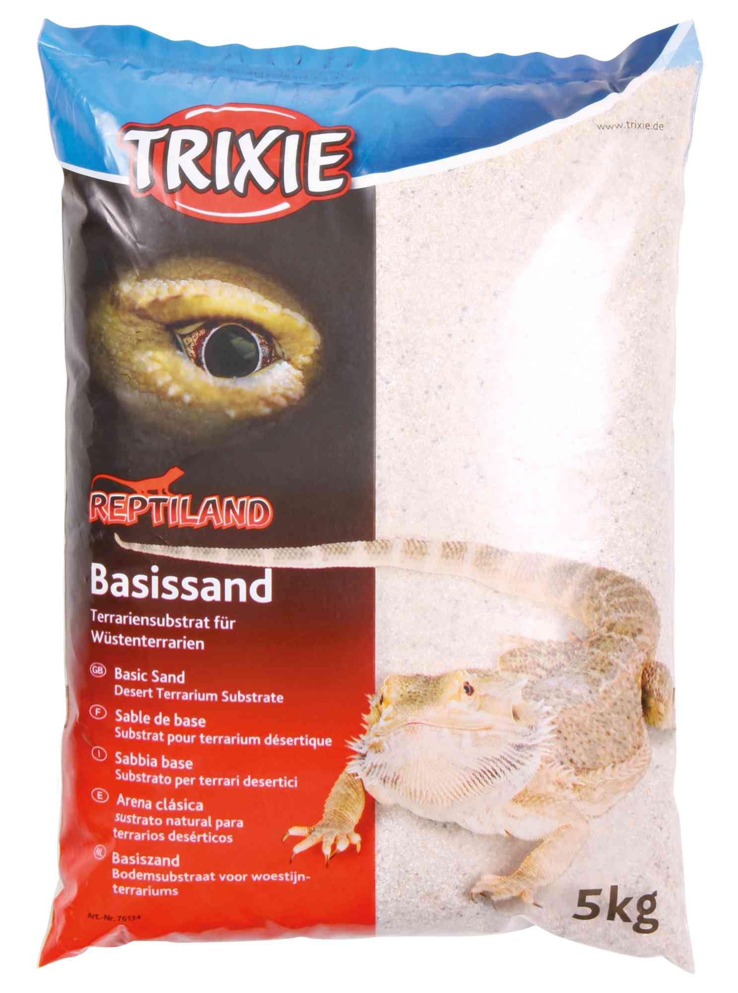 Trixie Basiszand voor Woestijn, 5 kg, wit