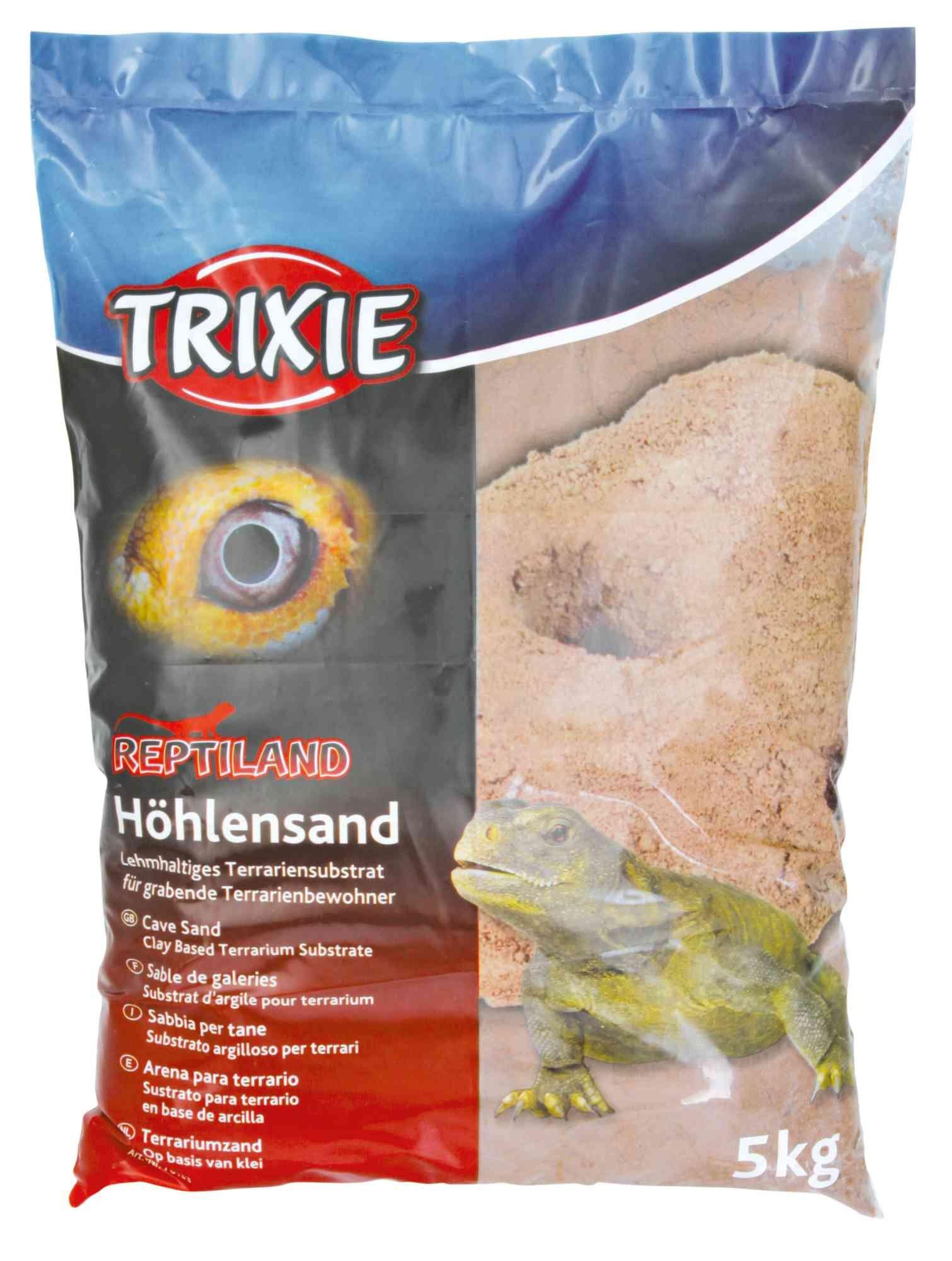 Trixie Zand op Kleibasis voor Terrarium, 5 kg, donkerrood