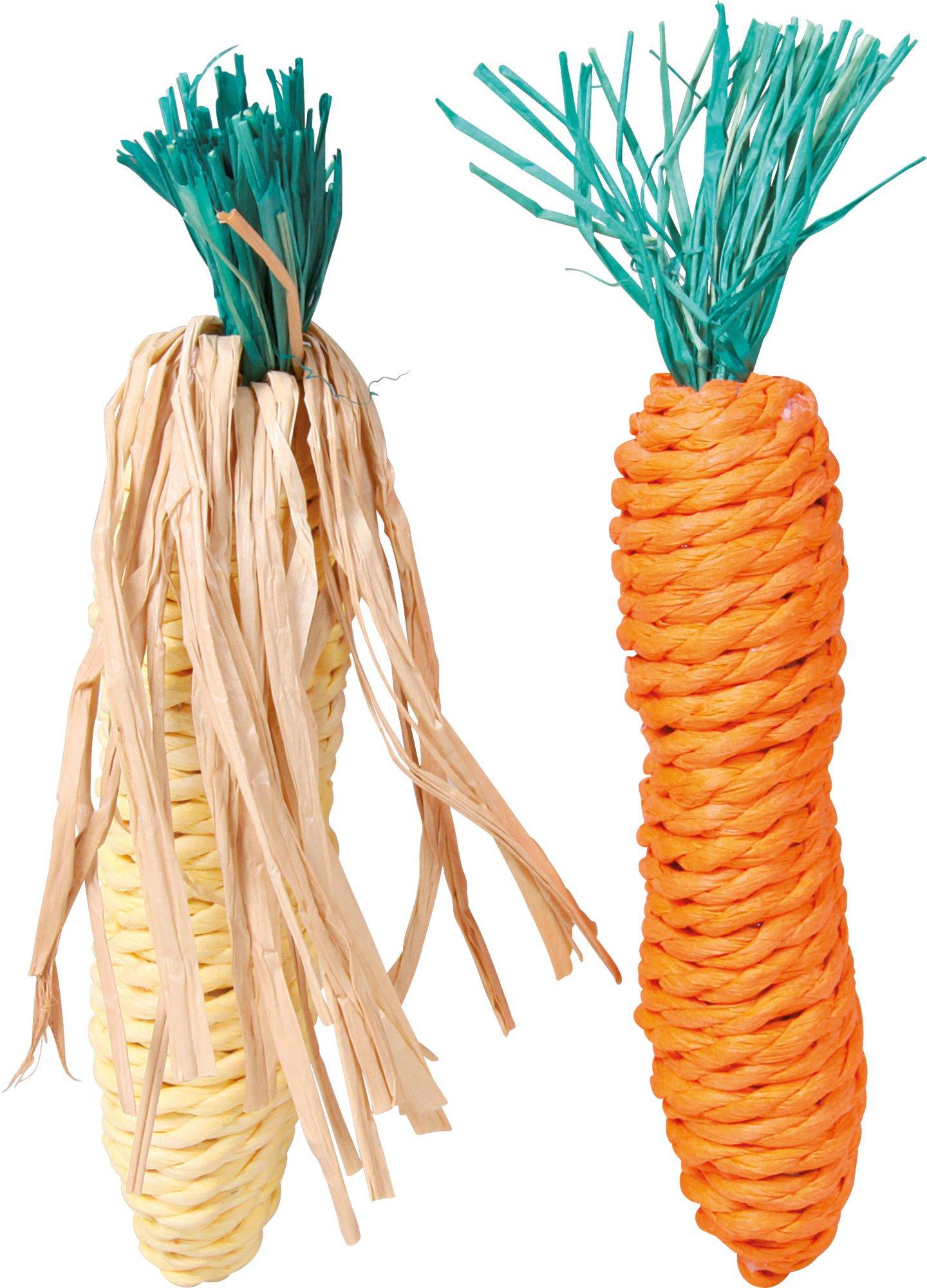 Trixie wortel en mais van touw