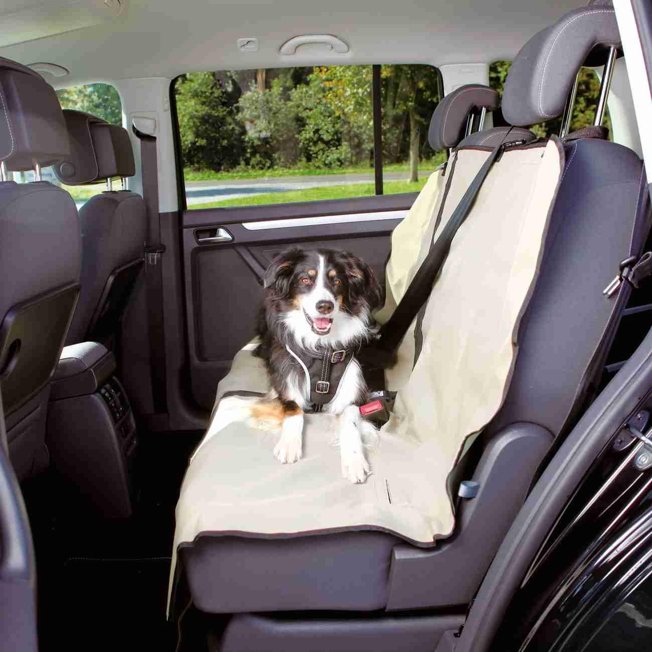 Trixie Auto Beschermdeken Deelbaar 1.40x120m Beige