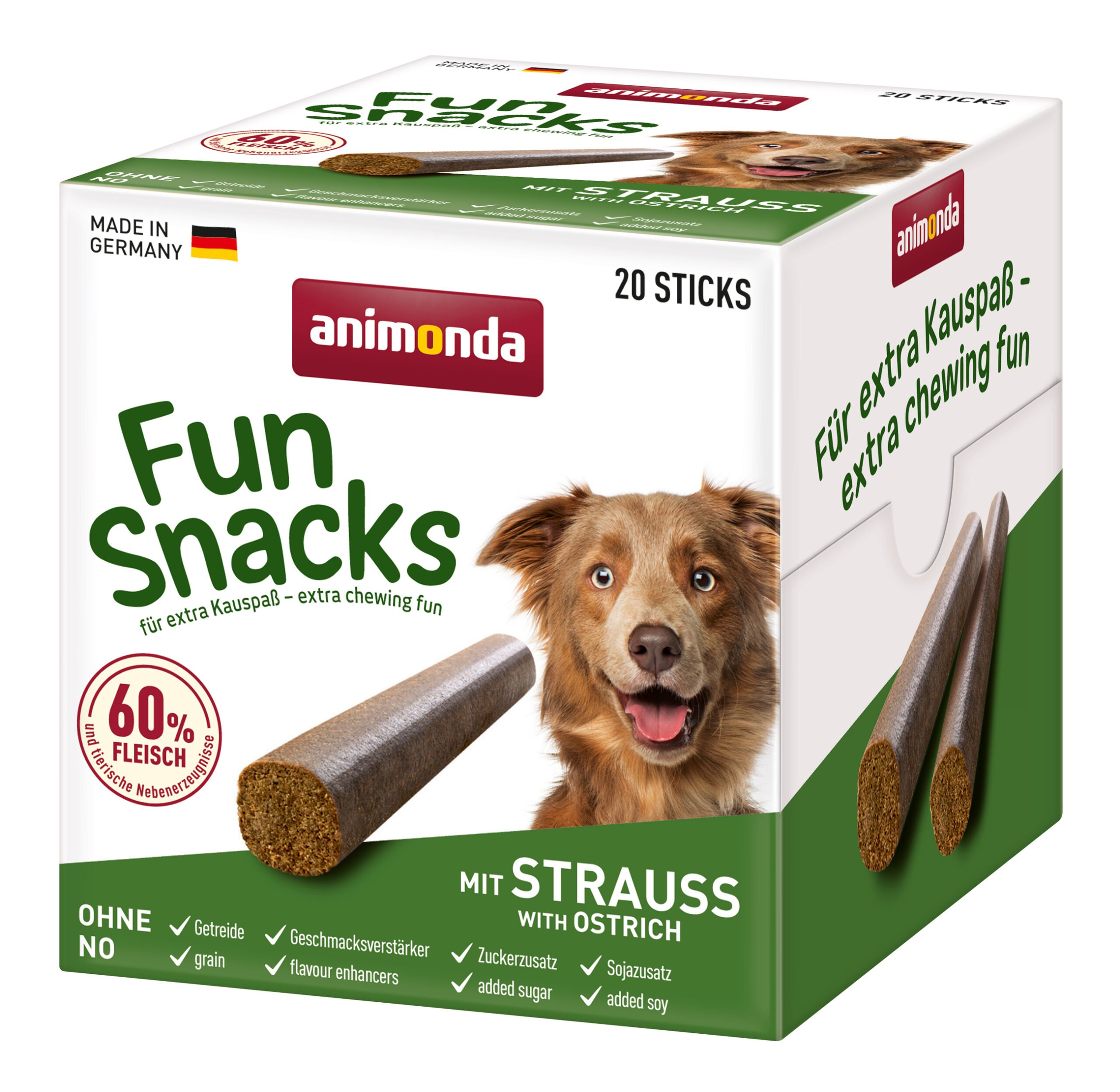 Fun Snacks Struisvogel