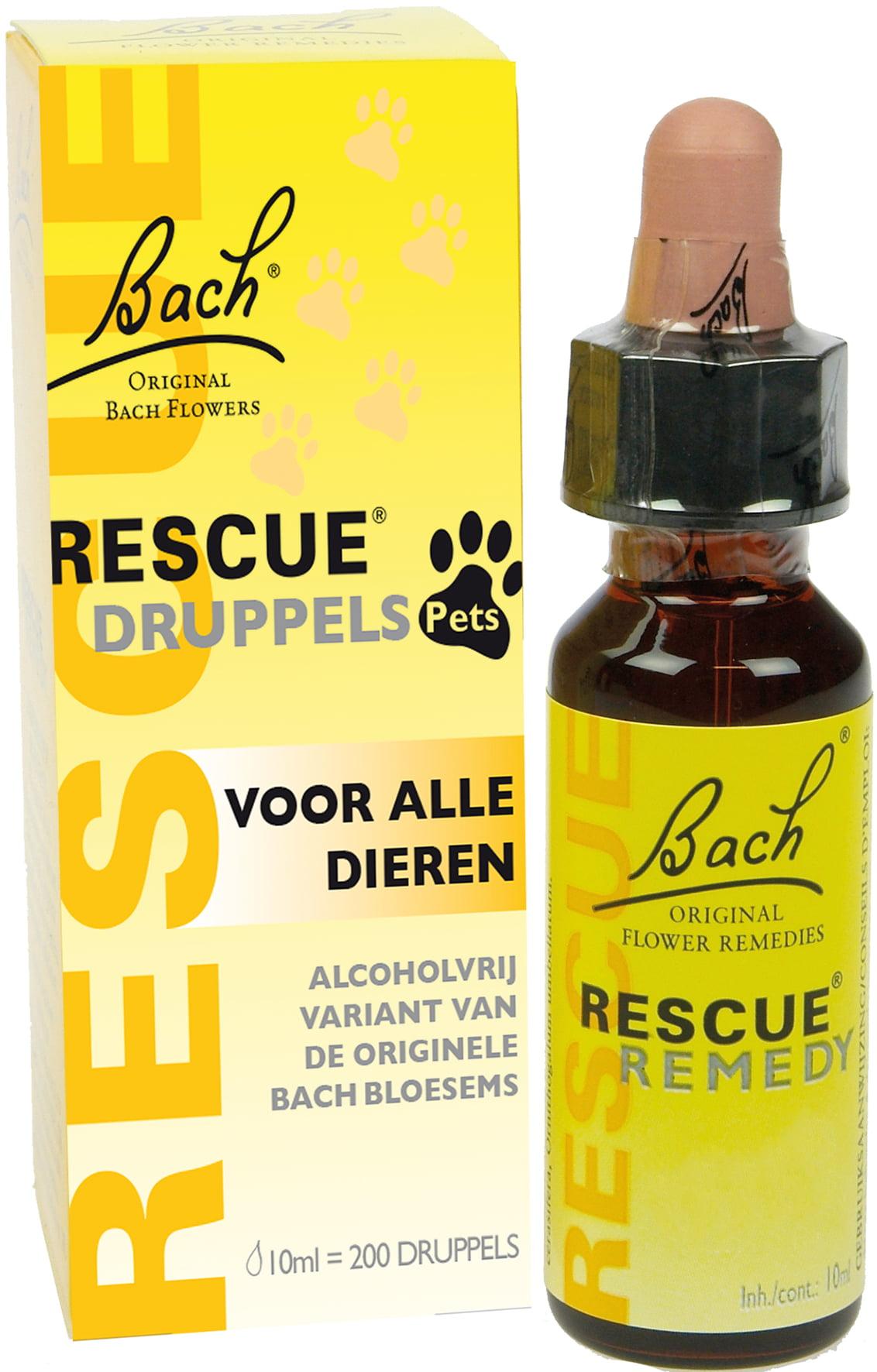 Bach Rescue pets druppels10ml.