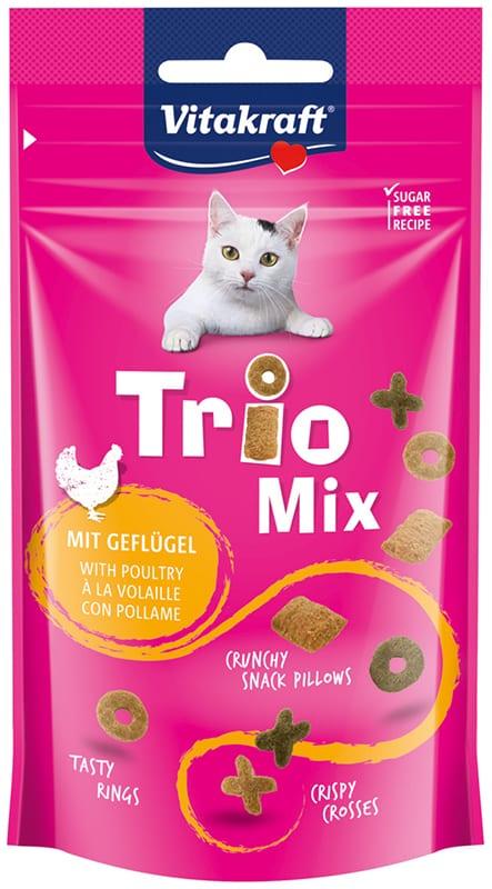 Vitakraft Cat Trio mix gevogelte 60gr