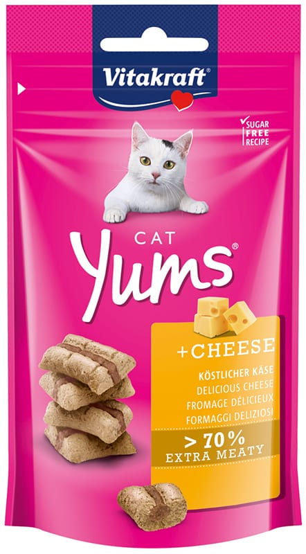 Vitakraft Cat Yums Kaas 40gr