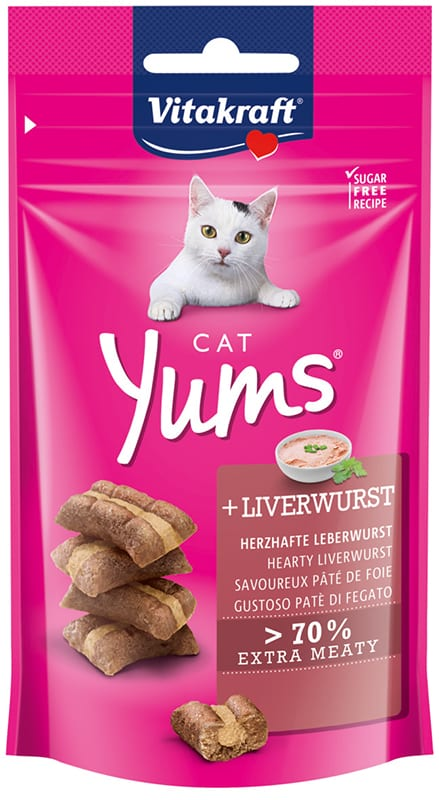 Vitakraft Cat Yums Leverworst 40gr