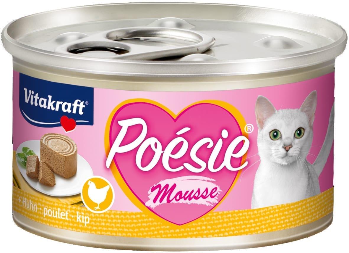 Vitakraft Cat Poesie Mousse Kip 85gr