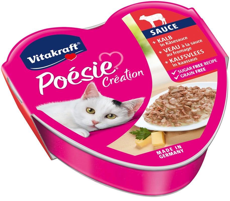 Vitakraft Cat Poesie Kalfsvlees in Kaas 85gr