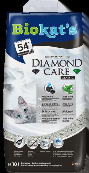 Kattenbakvulling Biokats Diamond Care Classic 10ltr