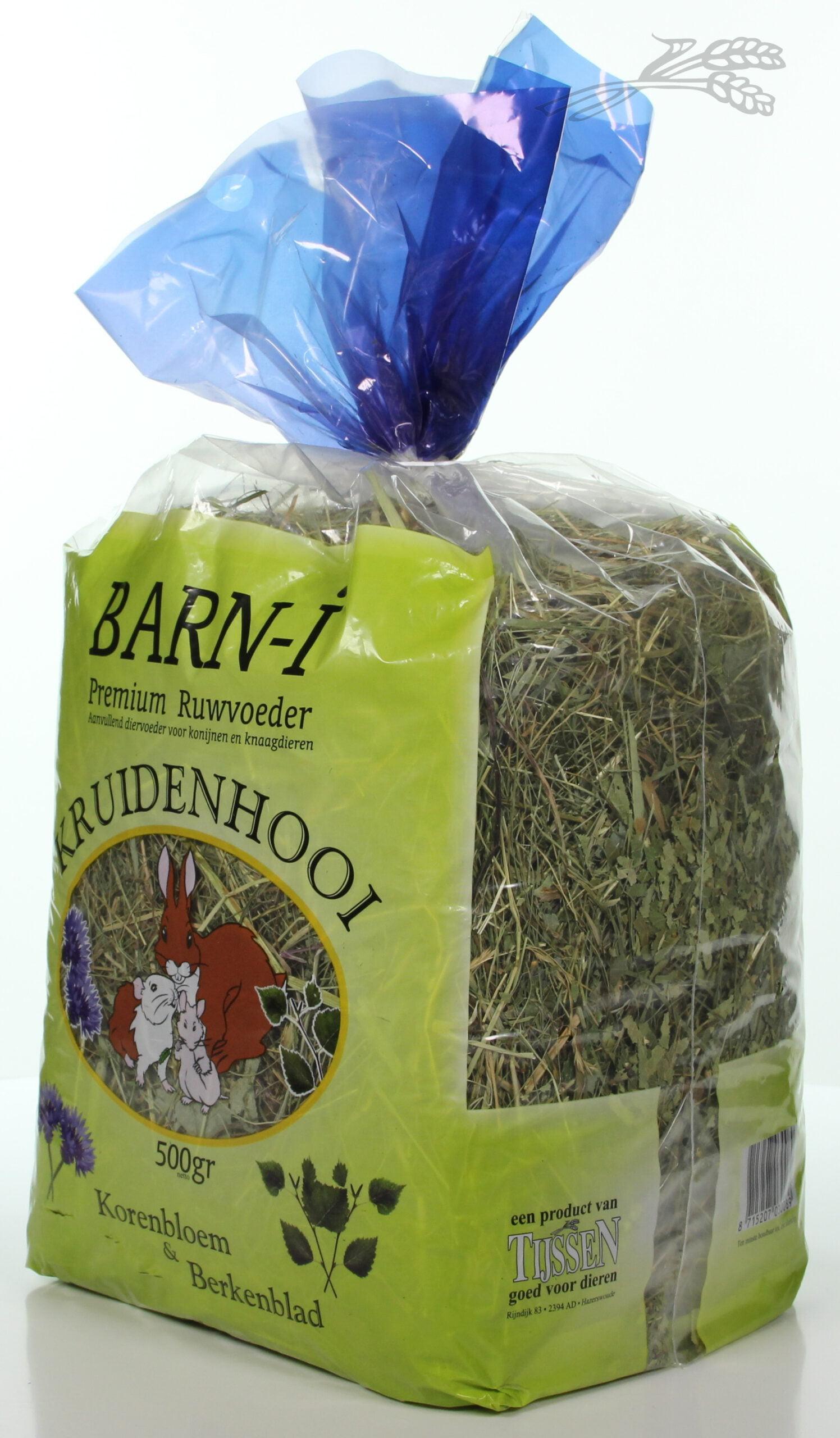 Barn-i Kruidenhooi Korenbloem en berkenblad 500gr