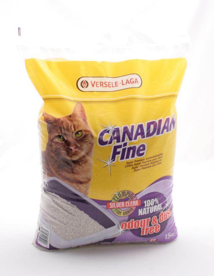 Kattenbakvulling Canadian Fine Super Premium 15kg