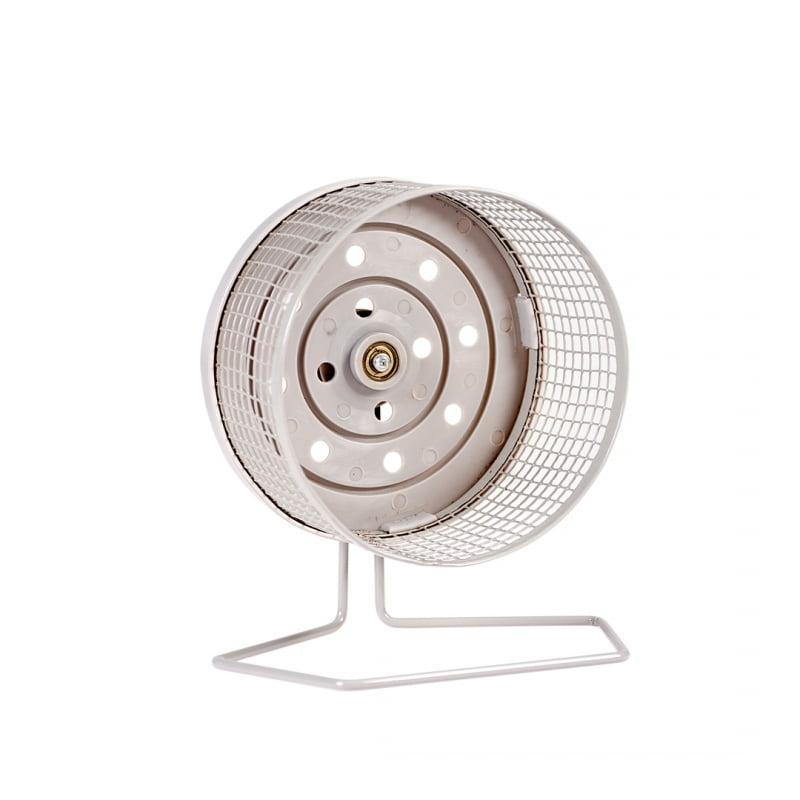 Metalen looprad Grijs 18 cm