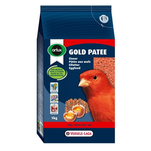 Orlux Gold Patee Nat Rood 1kg