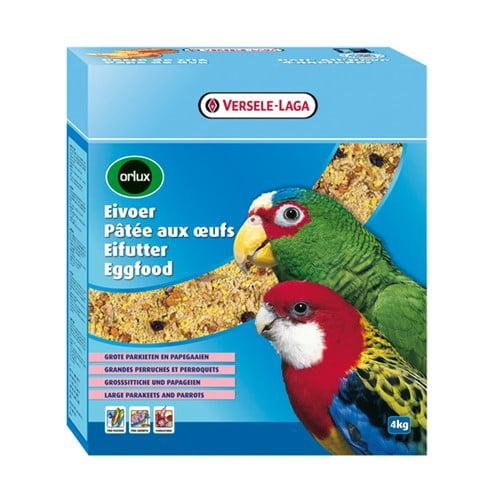Orlux Eivoer Droog Gr.par.-papegaai 4kg