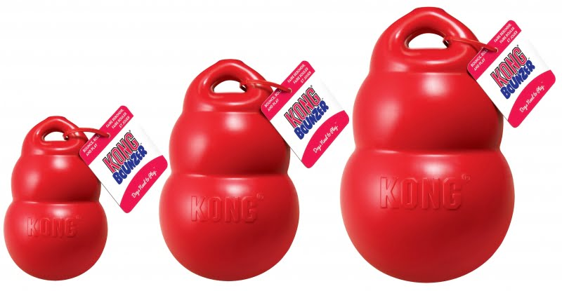Kong Bounzer Large Rood 20cm