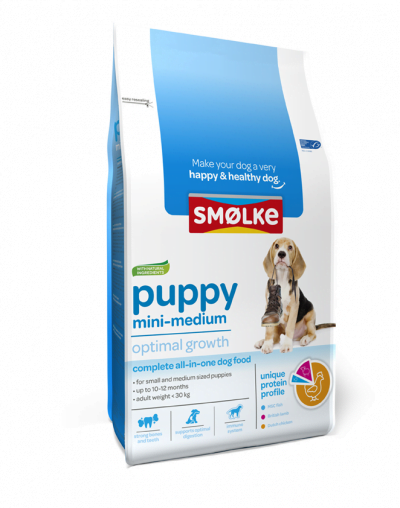 Smolke Hond Puppy Mini/medium 12 kg