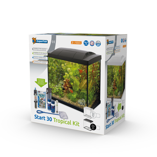 SUPERFISH START 30 TROPICAL KIT WIT