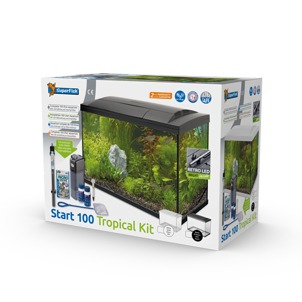 SUPERFISH START 100 TROPICAL KIT ZWART