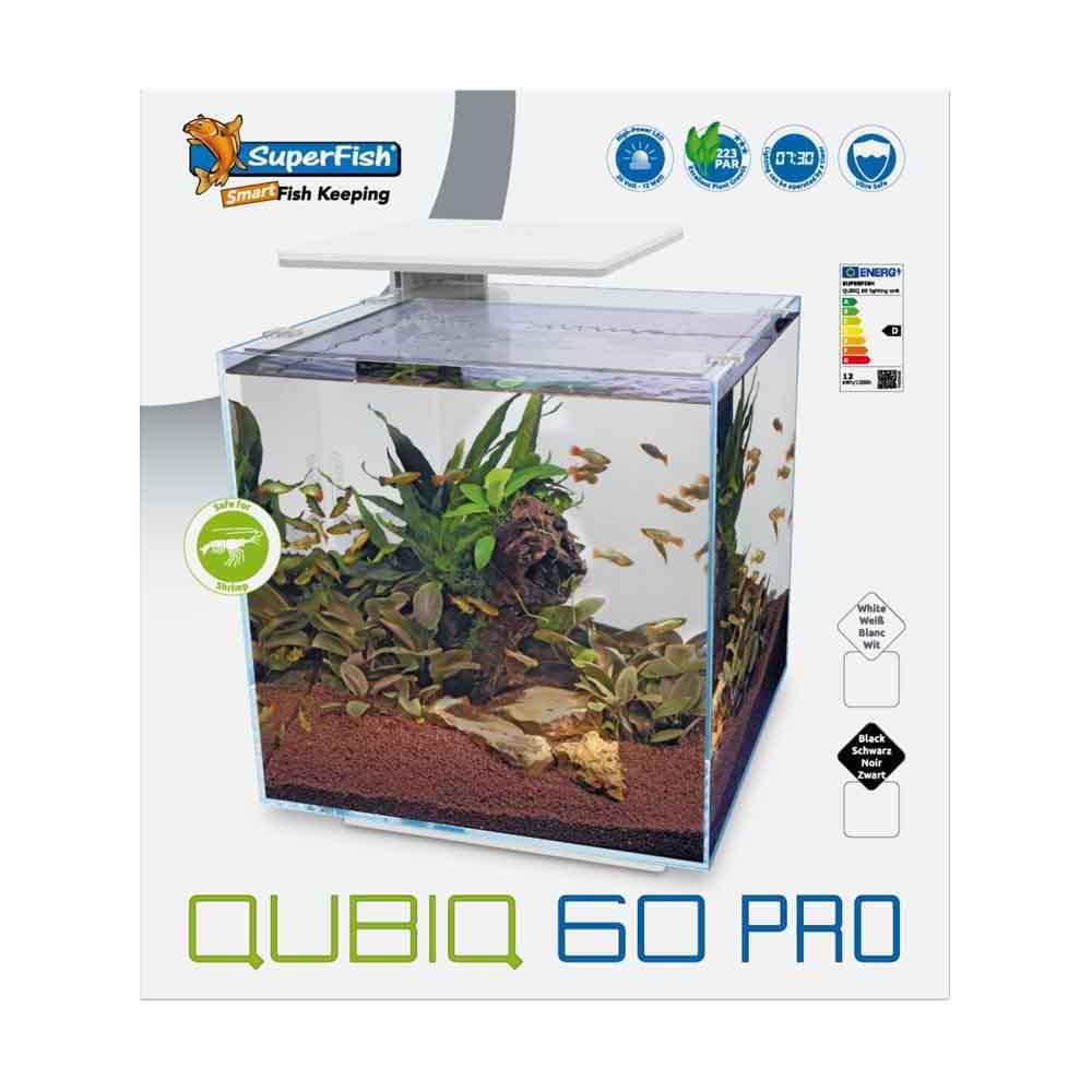 SuperFish QubiQ 60 pro zwart