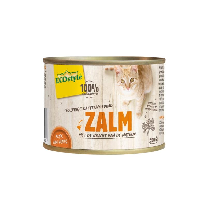 Ecostyle Kat Zalm 200gram
