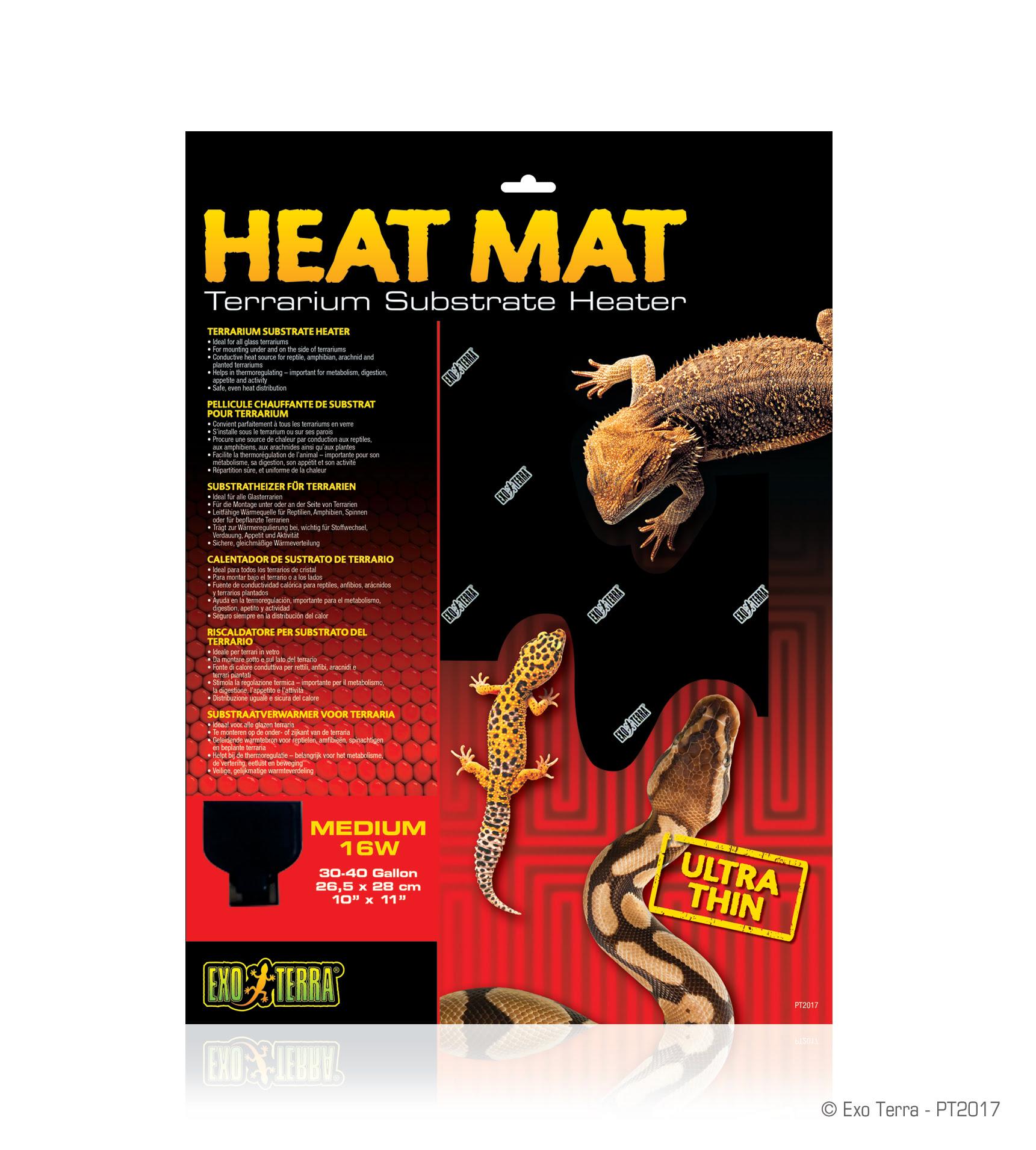 Ex Heat mat 16 watt 26.5 x 28cm