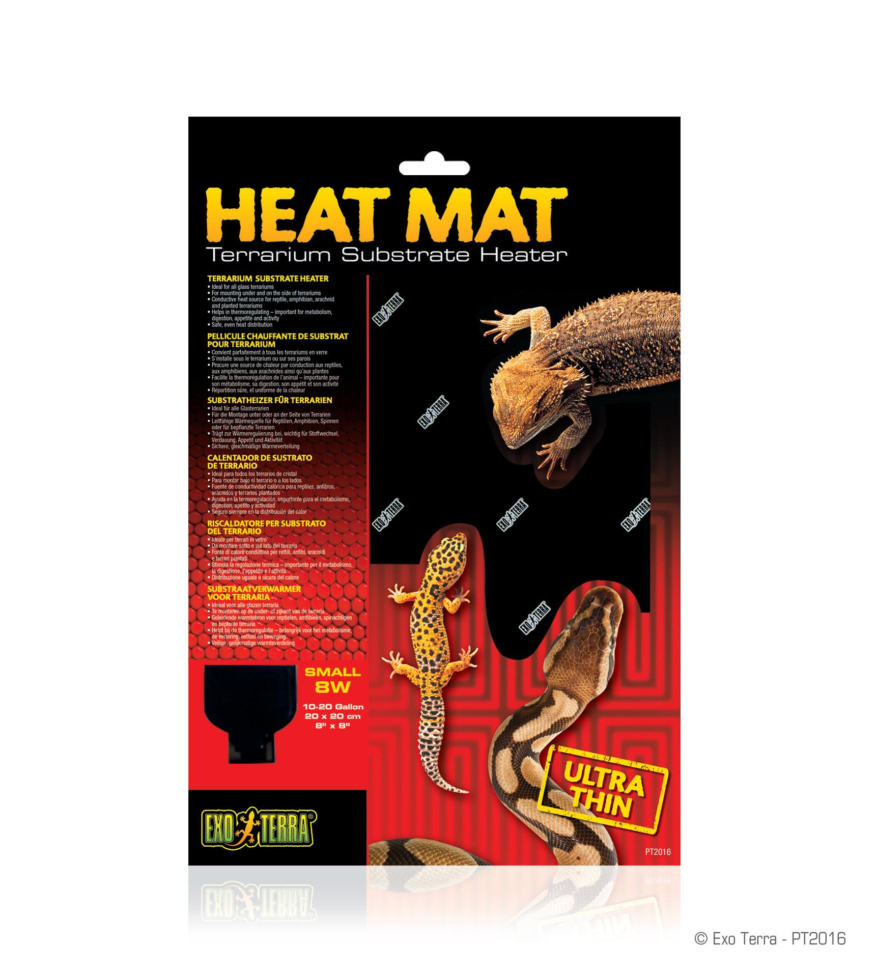 Ex Heat mat 8 watt 20x20cm