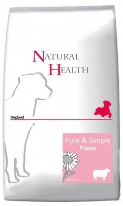 Natural Health Dog Lamb & Rice Puppy 2,5kg