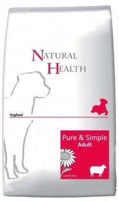 Natural Health Dog Lamb & Rice Adult 12,5kg
