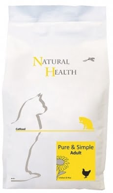 Natural Health Cat Pure & Simple Adult 2,5kg