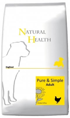 Natural Health Dog Pure & Simple Adult 12,5kg