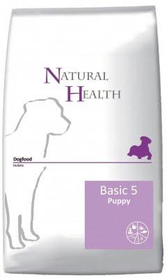 Natural Health Dog Basic 5 Puppy 12.5 Kg