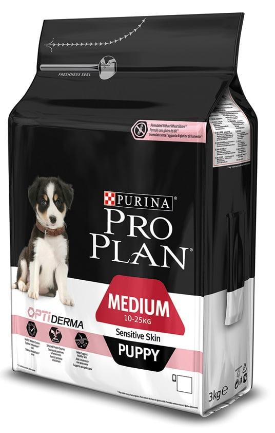 Proplan Hond Pup Med Sens Zalm 3kg