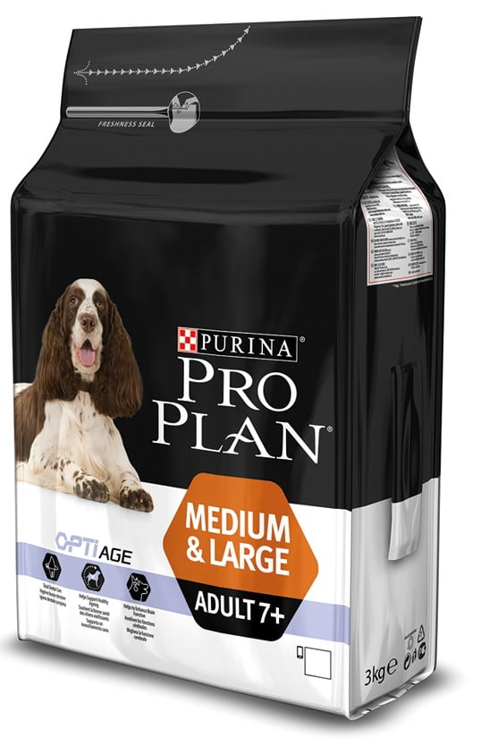 Proplan Hond Adult 7+ Kip 3kg