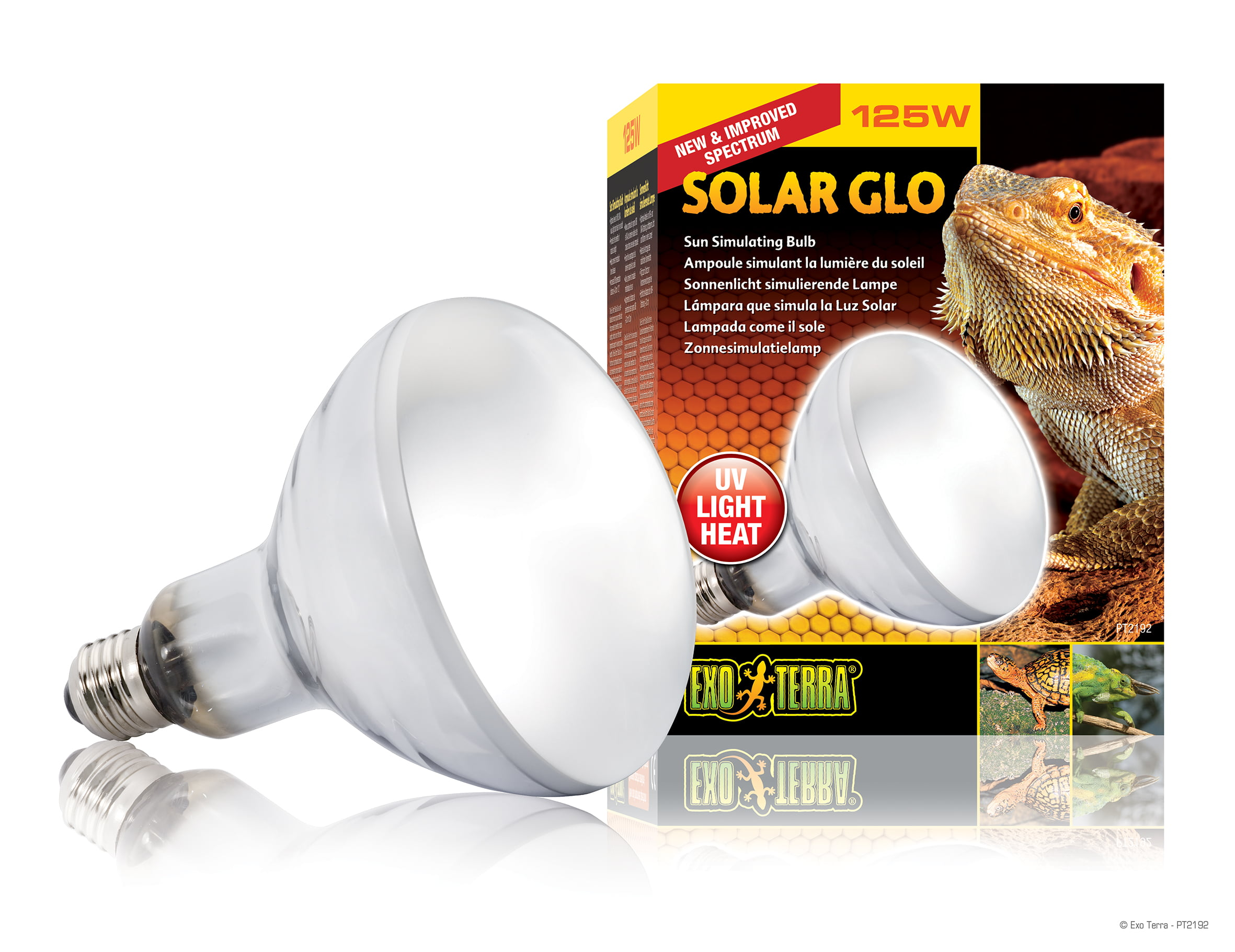 Ex Solar-glo Warmte en Uvb Lamp 125w