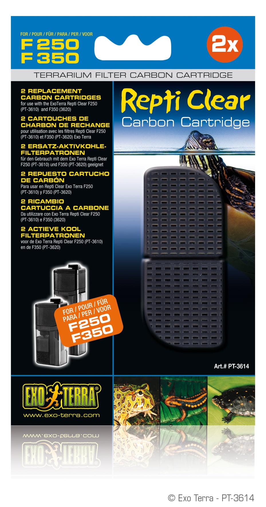 Ex Repti Clear F250/350 Koolstofpatroon