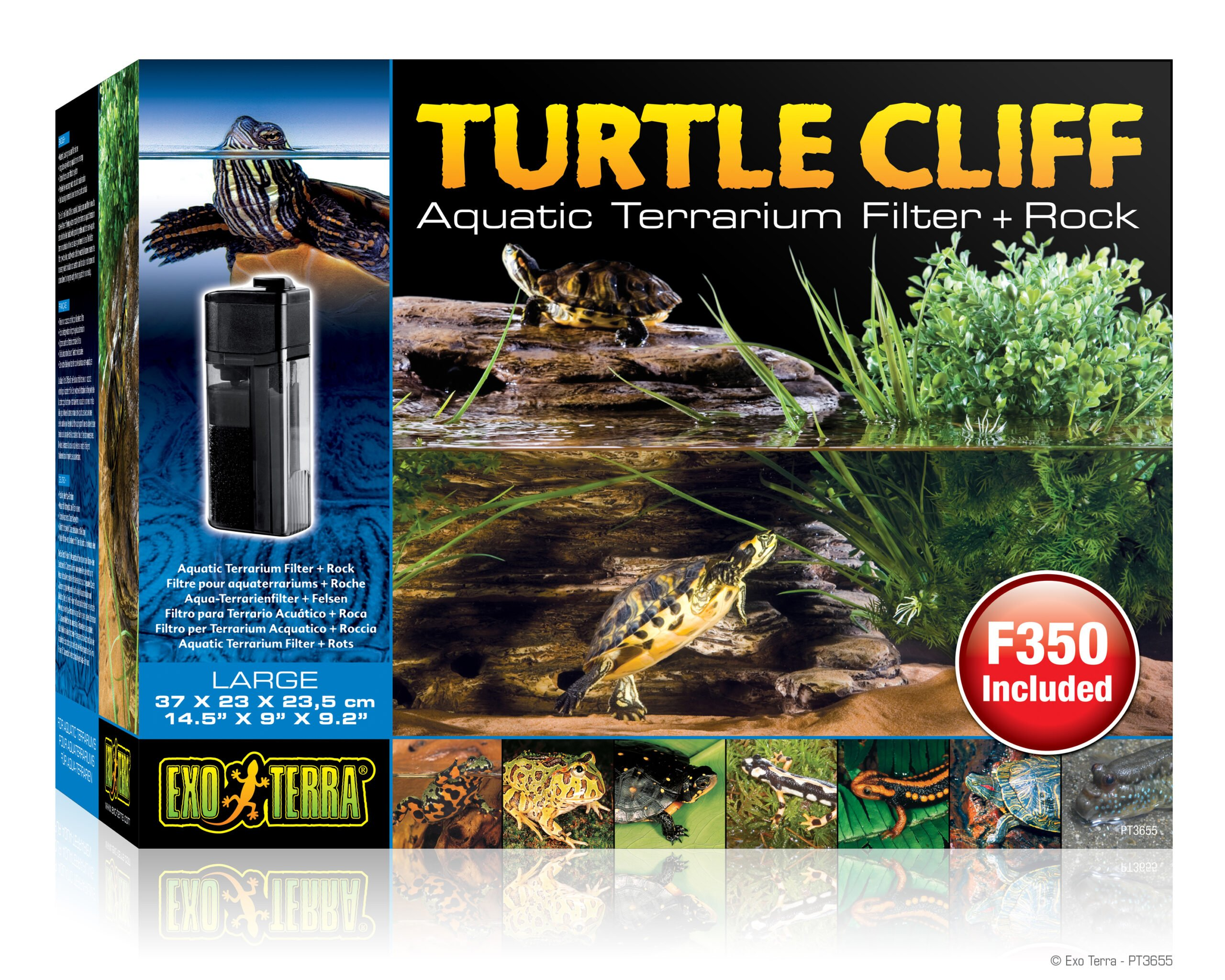 Ex Turtle Cliff Groot Met Filter Pt3620