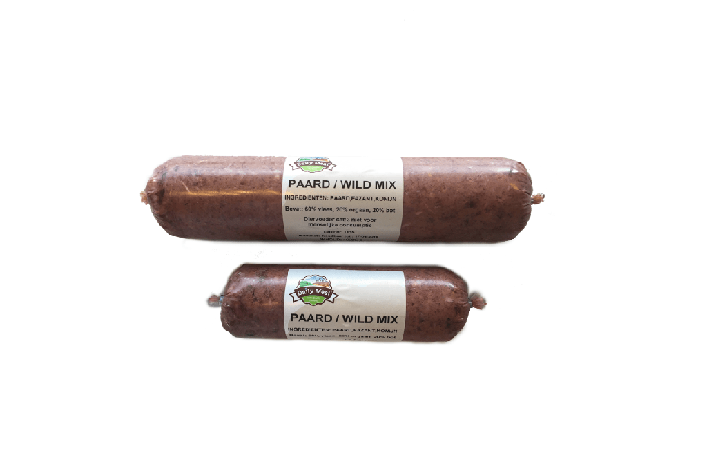 Daily Meat Paard-wild 1kg