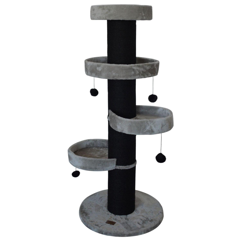 Krabpaal Pilou 24 kg Grijs 60x60x145 cm