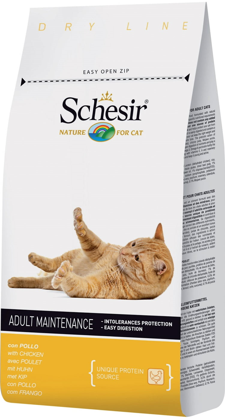 Schesir Kat Maintenance Kip 1.5kg