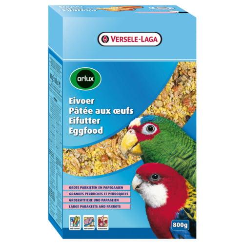 Orlux Eivoer Gr.parkieten/papegaaien 0.8kg