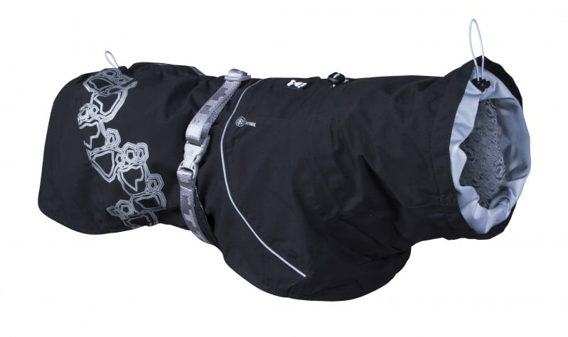 Hurtta Drizzle Coat Zwart 20cm