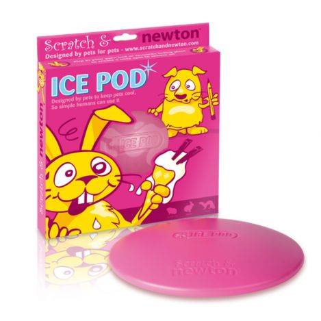 Ice pod koelschijf Roze 21 cm