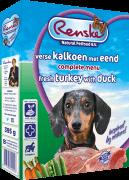 Renske Hond Kalkoen/eend 395gr Adul