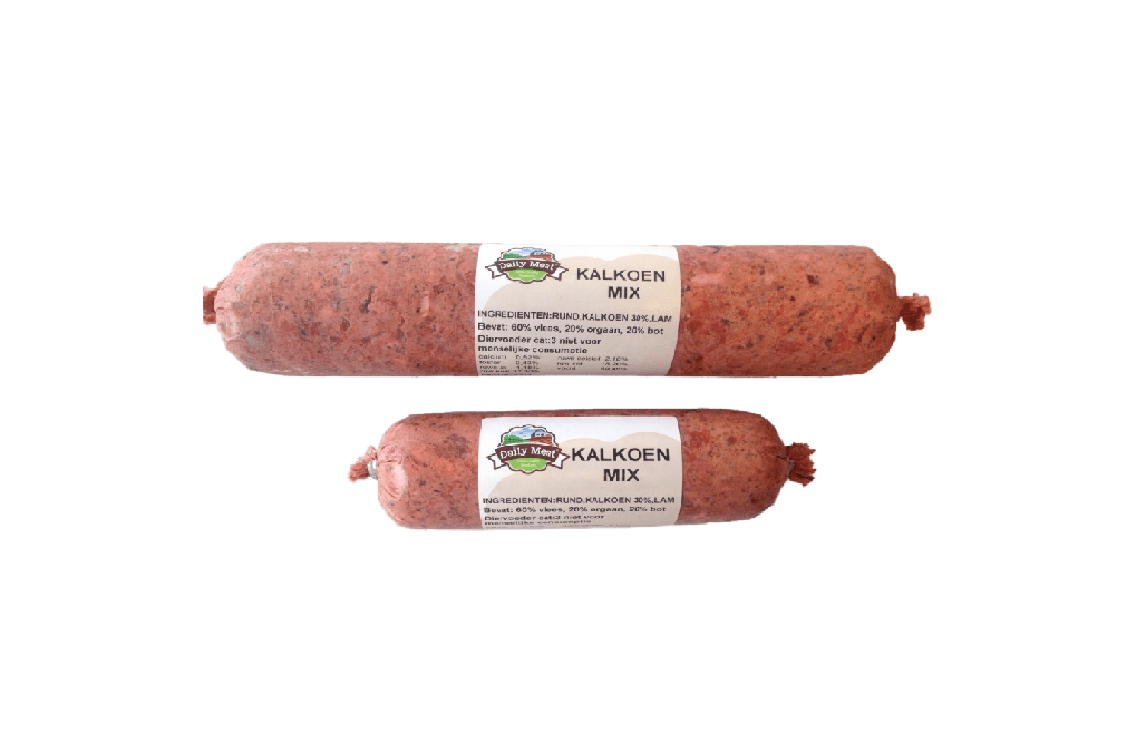Daily Meat Kalkoenmix 1kg