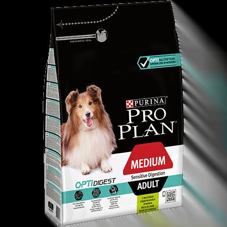 Proplan Medium Breed Adult Digestion Lam 3kg